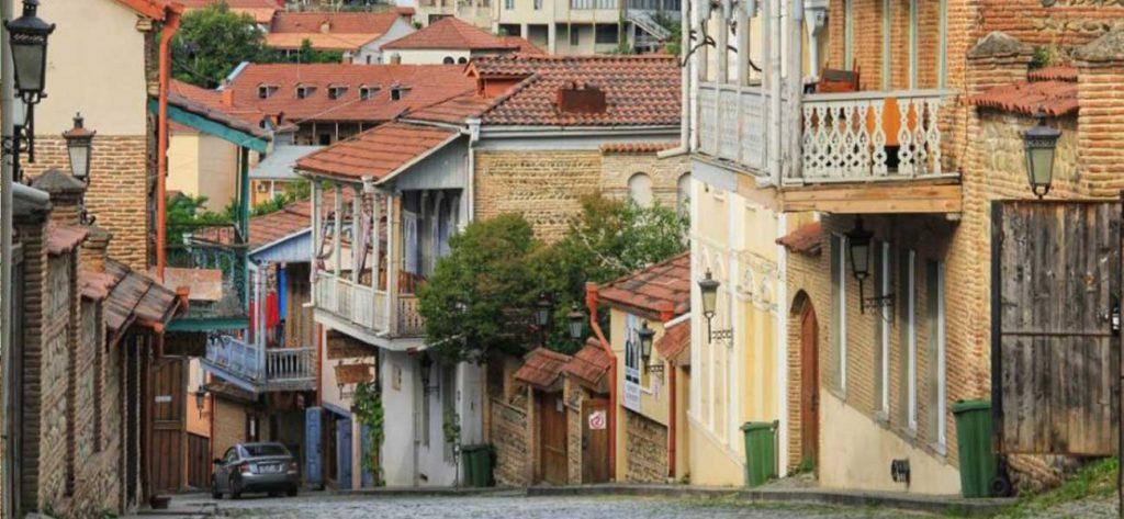 خانه های مسکونی قدیمی تفلیس