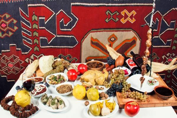 خوردنی ها و آشامیدنی ها در گرجستان